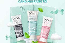 Review sữa rửa mặt Pond's Mineral Clay Face Cleanser