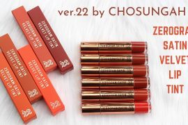 Review Son Chosungah Ver 22 Zerogram Satin Velvet Lip Tint