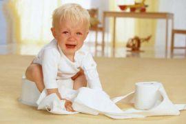 Những nguyên nhân gây ra táo bón ở trẻ em