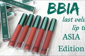 Review son BBIA Last Velvet Lip Tint Asia Edition