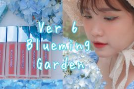 Review Son Black Rouge Air Fit Velvet Tint Version 6 Blueming Garden