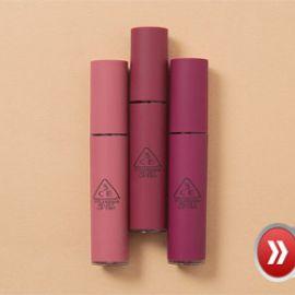 Review 3 màu tông tím mới của son kem 3CE Velvet Lip Tint