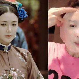 Cách chăm sóc da mỗi tối của Tần Lam trong phim Diên Hi Công Lược