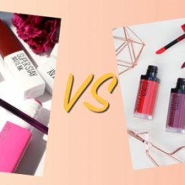 So sánh son Maybelline Superstay Matte Ink và Bourjois Rouge Edition Velvet