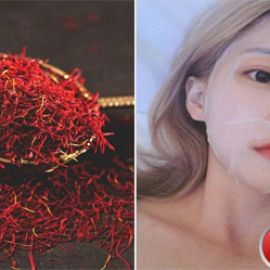 Lotion mask ngâm nhụy hoa nghệ tây xu hướng làm đẹp mới của chị em Việt Nam