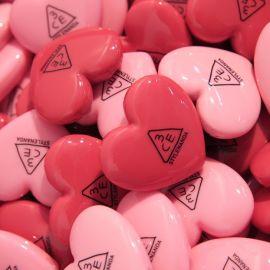 Review son 3CE Heart Pot Lip son dưỡng có màu giá rẻ hình trái tim