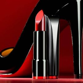 Review son Clio Rouge Heel Lipstick 2017