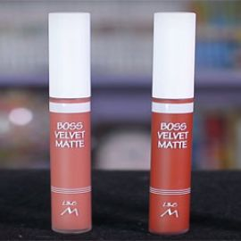 Review Swatch son Like M Boss Velvet Matte Lip Tint