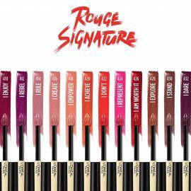 Review son L'Oréal Paris Rouge Signature Lasting Matte Liquid Lipstick