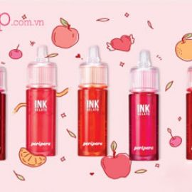 Review son Peripera Ink The Gelato & Swatch full bảng màu son