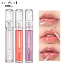 ROMAND GLASTING WATER GLOSS SWATCH & REVIEW