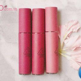 Đánh giá ưu nhược điểm của 3 màu son tông tím 3CE Velvet Lip Tint