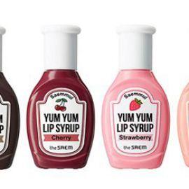 Review son The Saem Saemmul Yum Yum Lip Syrup