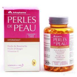 Review viên uống đẹp da collagen Perles de Peau Hydratant của Pháp