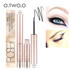 Review bút kẻ mắt O.TWO.O Rose Gold Waterproof Liquid Eyeliner