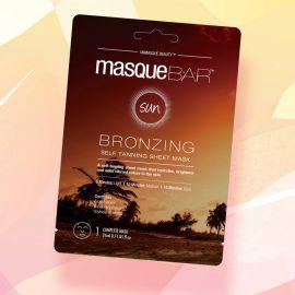 Review mặt nạ làm nâu da MasqueBAR Bio Cellulose Tanning Sheet Mask