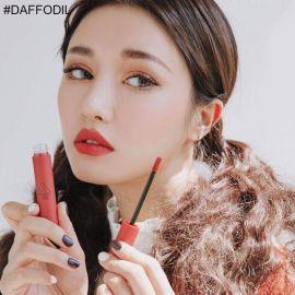 Review Son 3CE Velvet Lip Tint Daffodil Màu Đỏ Đất