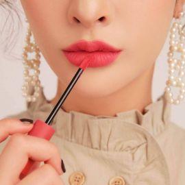Review Son 3CE Velvet Lip Tint Best Ever Màu Đỏ Thuần