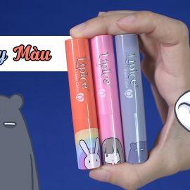 Review son Lipice Sheer Color Q Bestie phiên bản Thỏ 7 Màu (siêu xinh)