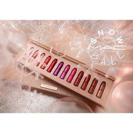 Review son MAC Snowball Mini Lipstick Kit phiên bản đặc biệt dành riêng mùa giáng sinh 2017