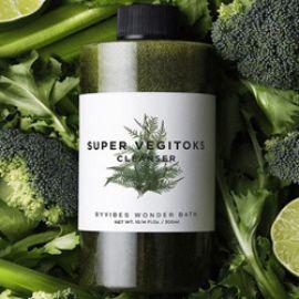 Review sữa rửa mặt Super Vegitoks Cleanser chiết xuất từ rau củ