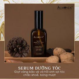 Tinh chất dưỡng tóc Almonds giọt vàng cho mái tóc