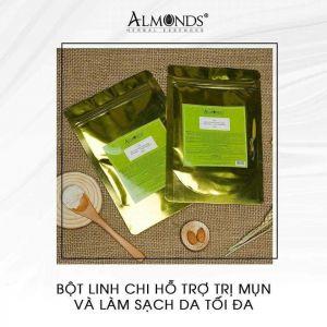 Bột rửa mặt Almonds hỗ trợ trị mụn và làm sạch da