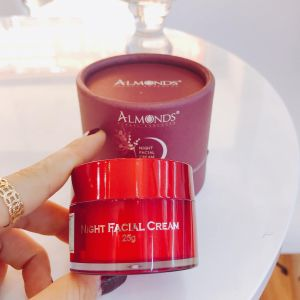 Kem Đêm Almonds Night Facial Cream | Dưỡng Da Chống Lão Hóa