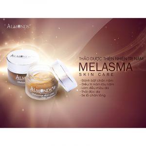 Kem dưỡng da ban đêm trị nám thuần thảo dược Almonds | Melasma Night Cream