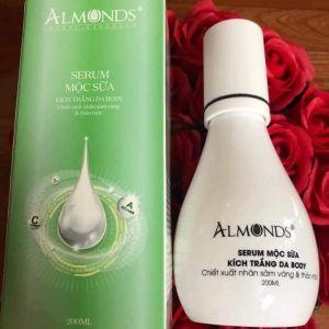 Serum Body Almonds | Kích Trắng Da Toàn Thân