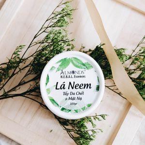 Tẩy da chết & mặt nạ lá NEEM Almonds