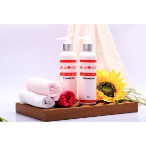 Ủ Body Kích Trắng Almonds | Whitening Bath