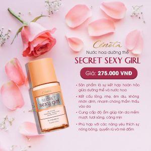 Dưỡng Thể Cenota Secret Sexy Girl