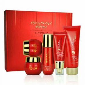 Bộ mỹ phẩm DANXUENILAN set 5 màu đỏ