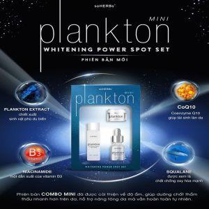 Bộ PlankTon Mini Giúp Dưỡng Da Trắng Sáng Tự Nhiên
