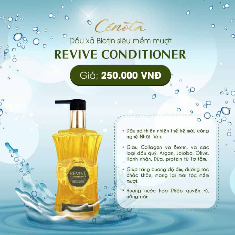 Dầu Xả Cenota Revive Conditioner s0
